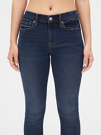 Soft Wear Mid Rise True Skinny Ankle Jeans