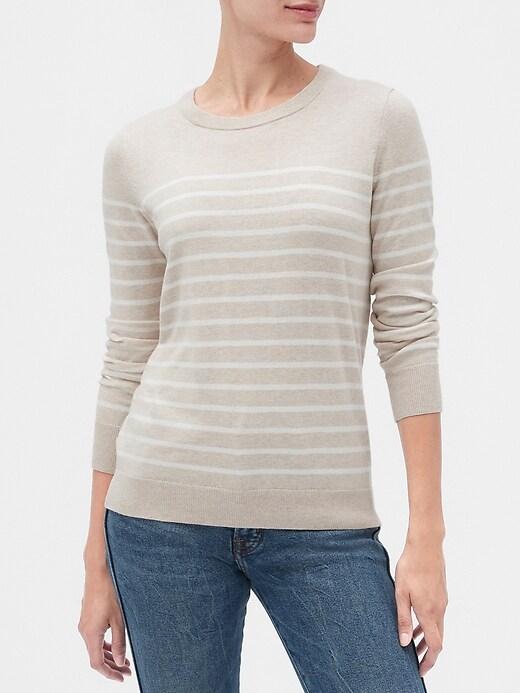 Graphic Crewneck Pullover Sweater