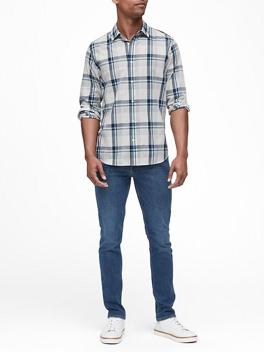 Untucked Standard-Fit Cotton Shirt