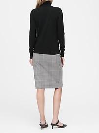 Petite Washable Merino Turtleneck Sweater