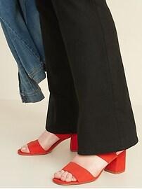 Mid-Rise Plus-Size Kicker Boot-Cut Jeans