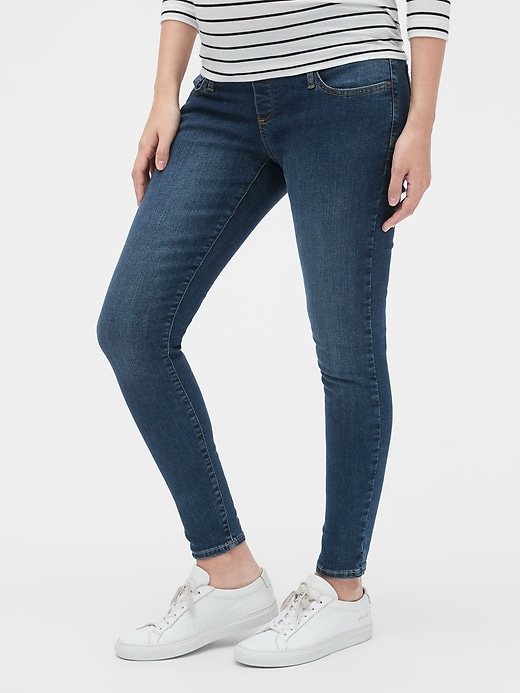 Maternity Demi Panel Favorite Jeggings
