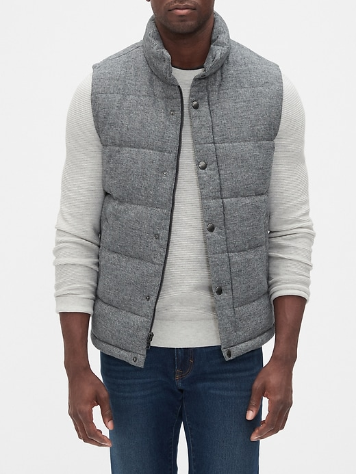 Quilted Heather Vest