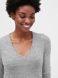 Maternity Softspun V-Neck T-Shirt Dress