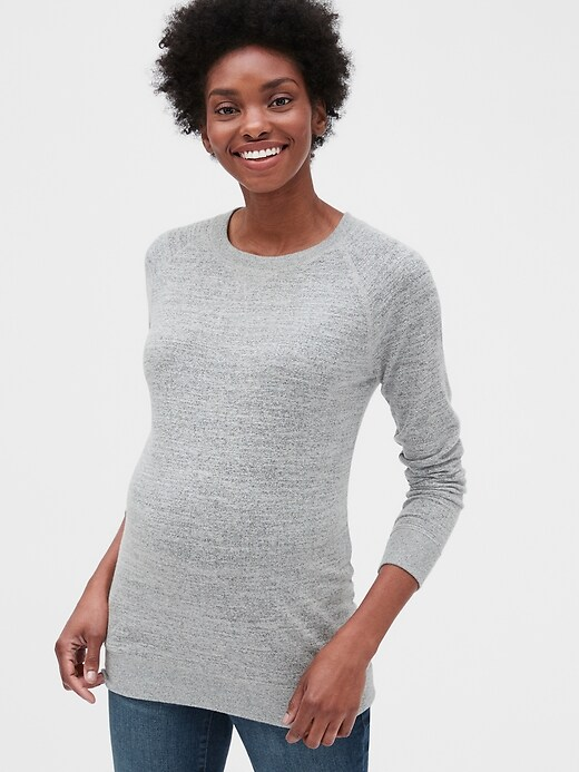 Maternity Softspun Sweatshirt