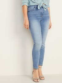 High-Waisted Pop Icon Skinny Jeans For Women