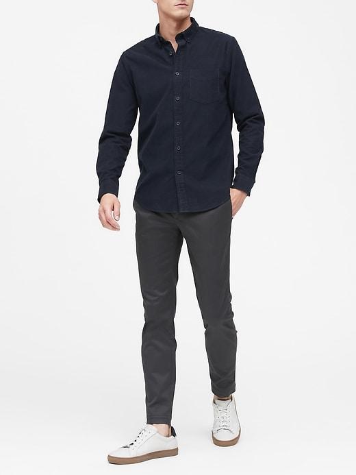 Slim-Fit Corduroy Shirt