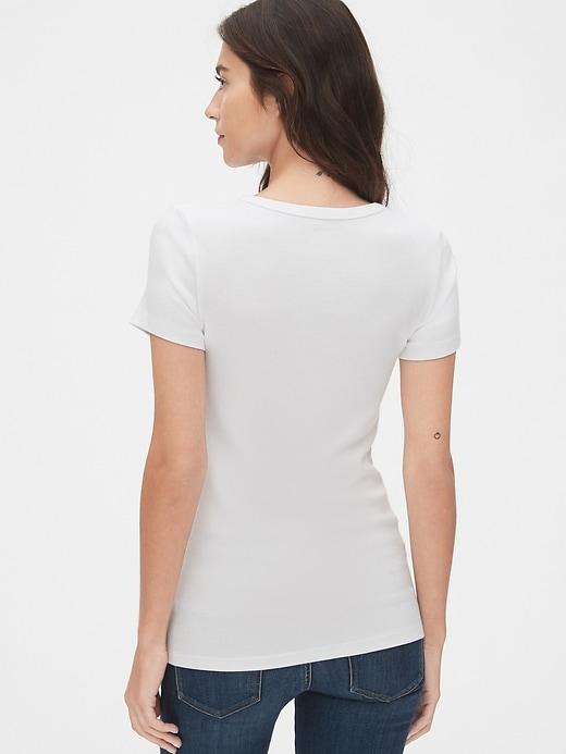Modern V-Neck T-Shirt