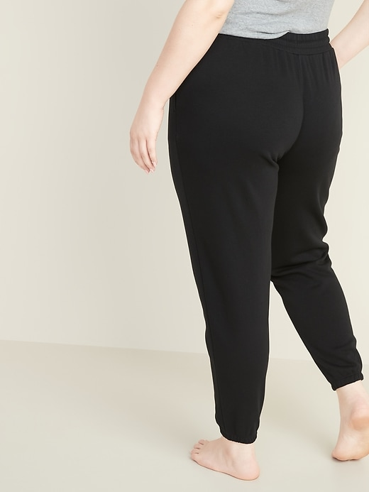 French Terry Plus-Size Joggers