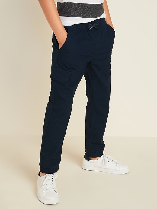 Built-In Flex Ripstop Cargo Joggers for Boys