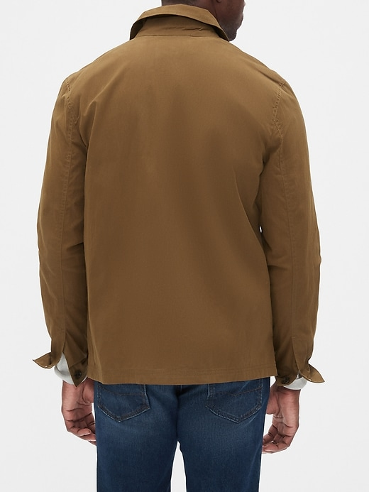 Waxed Field Jacket