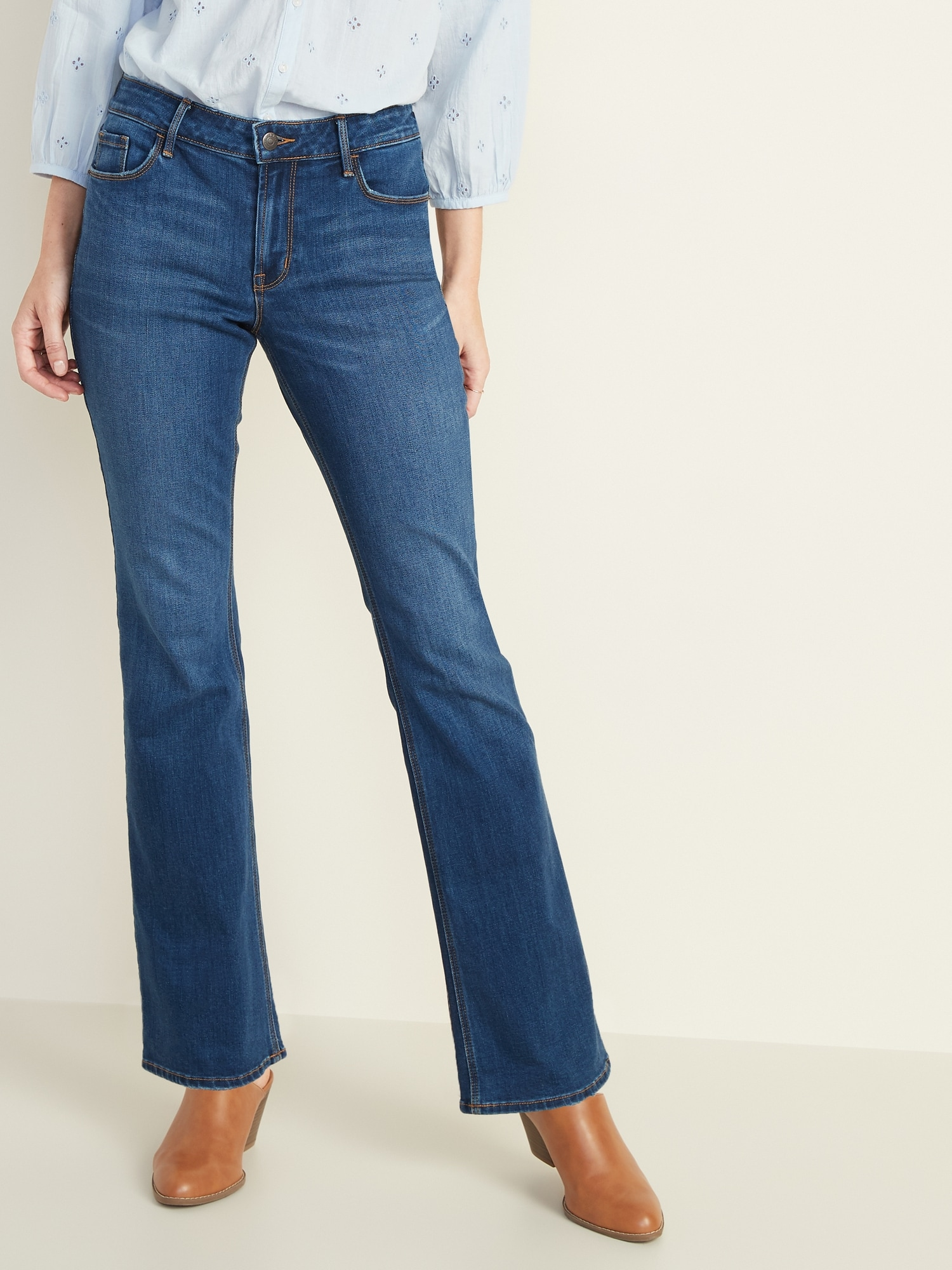 womens nice flared jeans
