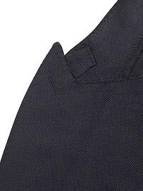 Veston de complet en laine italienne, coupe étroite
