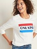 OldNavy.com deals on Old Navy Graphic Long-Sleeve Tee for Women