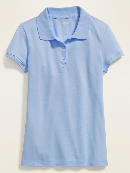 Uniform Pique Polo for Girls