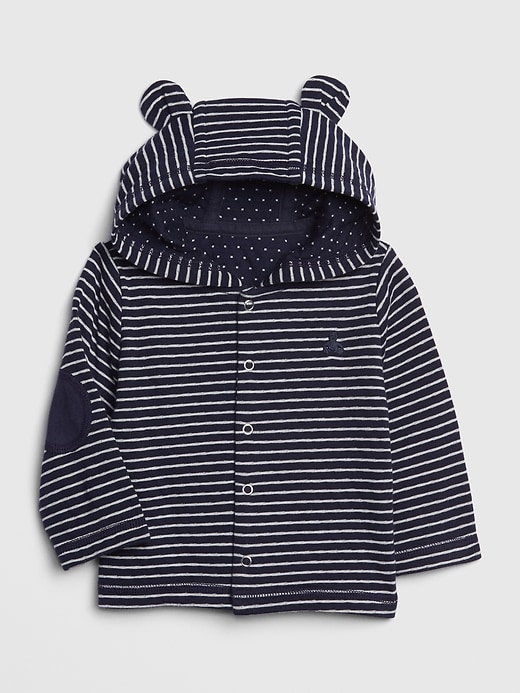 Baby Brannan Bear Patch Hoody Sweatshirt