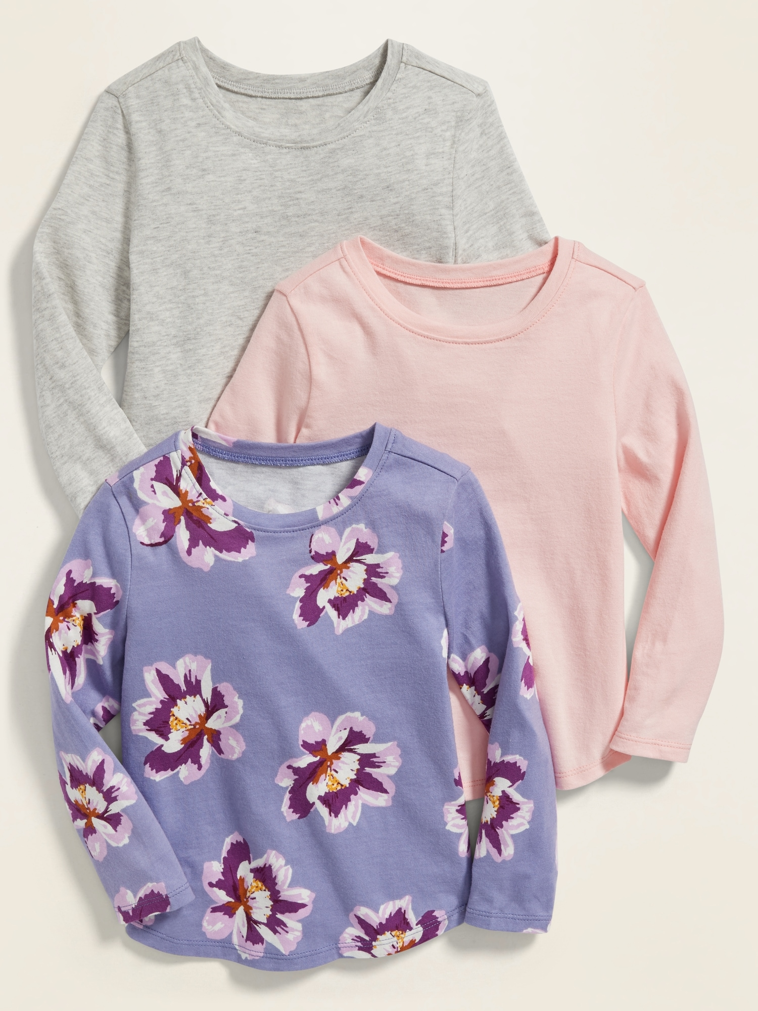 Girl/'s Old Navy What/'s Not to Love Lavender Shirt 12-18 Months 18-24 Months