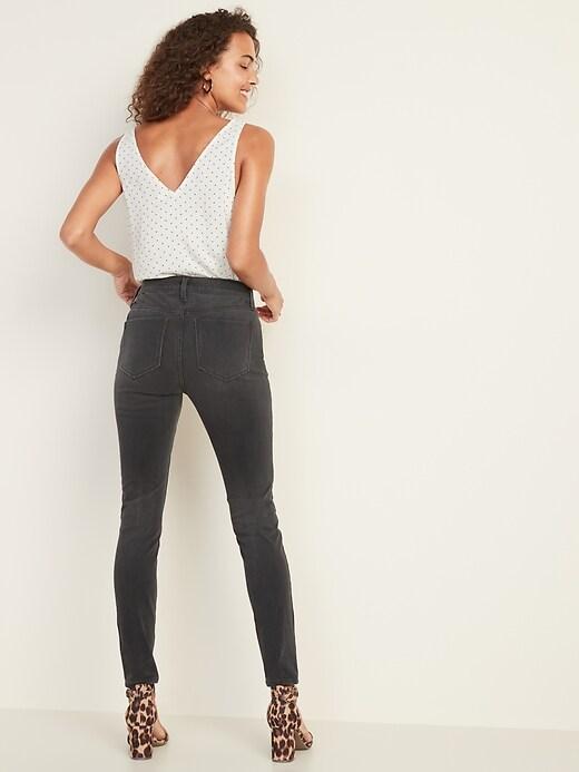 High-Waisted Rockstar 24/7 Sculpt Super Skinny Jeans for Women