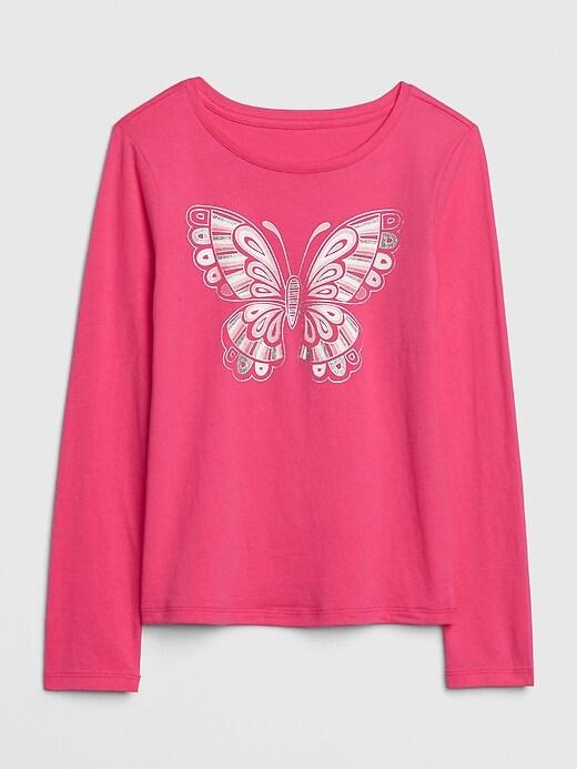 Kids Graphic Long Sleeve T-Shirt