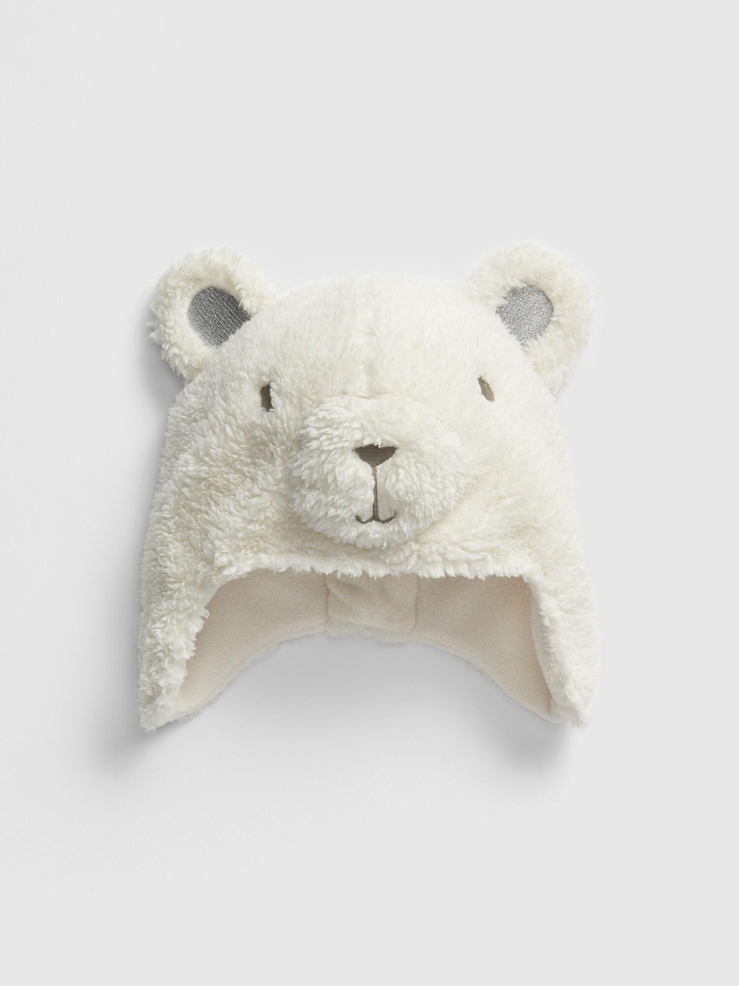 シロクマ トラッパーハット (幼児)