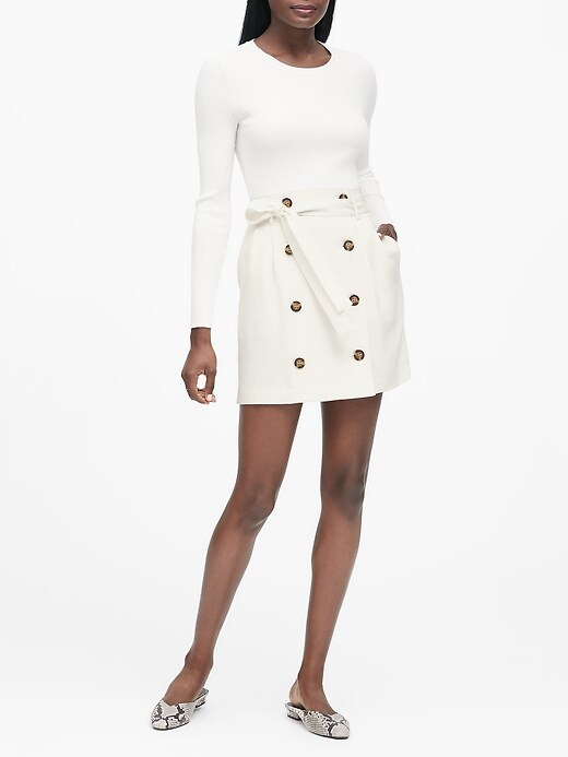 Paperbag-Waist Skirt
