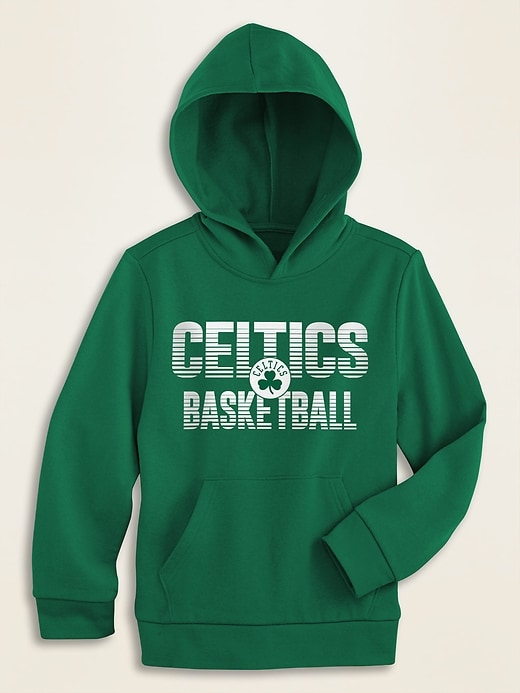 NBA&#!74 Team-Graphic Pullover Hoodie for Boys
