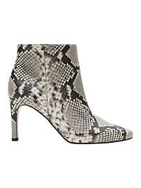 Skinny-Heel Ankle Boot