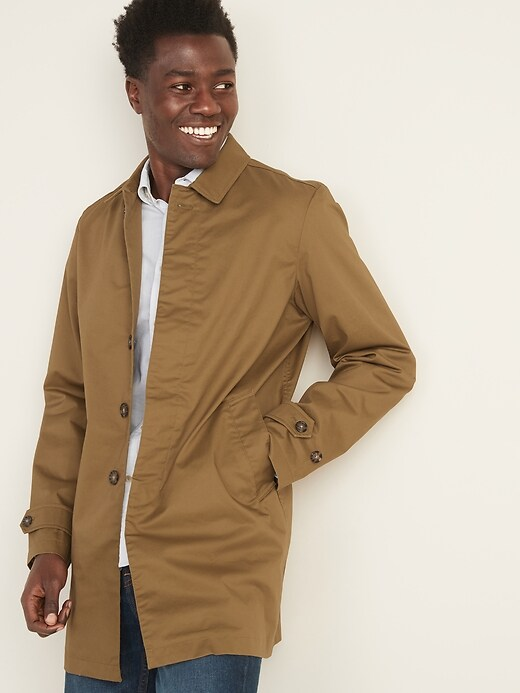 Built-In Flex Twill Mac Jacket for Men