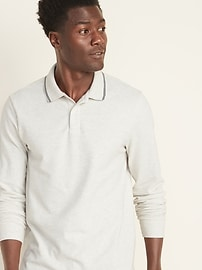 Moisture-Wicking Tipped Pro Polo for Men