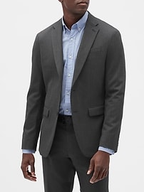 Deals on Banana Republic Factory Mens Slim-Fit Stretch Blazer