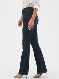 Curvy Fit Sculpt Dark Wash Slim Boot Jean