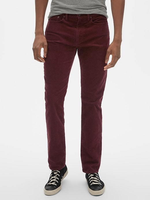 Slim Fit Cords with GapFlex