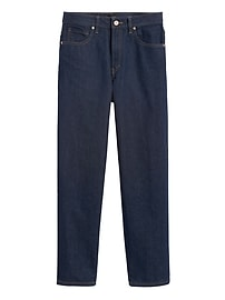 JAPAN EXCLUSIVE Mid-Rise Relaxed Straight Jean