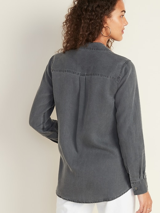 Relaxed Tencel&#174 Shirt for Women
