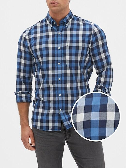 Poplin Shirt in Slim Fit