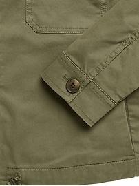 Petite Utility Shirt Jacket