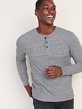 Thermal-Knit Henley for Men (various sizes/colors)