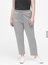 Hayden Tapered-Fit Houndstooth Ankle Pant