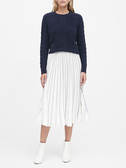 Aire Cable-Knit Sweater