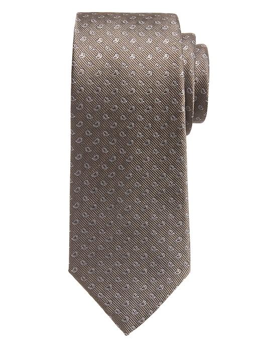 Cravate à motif de pins