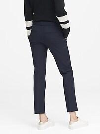 Petite Ryan Slim Straight-Fit Washable Bi-Stretch Pant