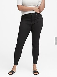 High-Rise Legging Luxe Sculpt Ankle Jean