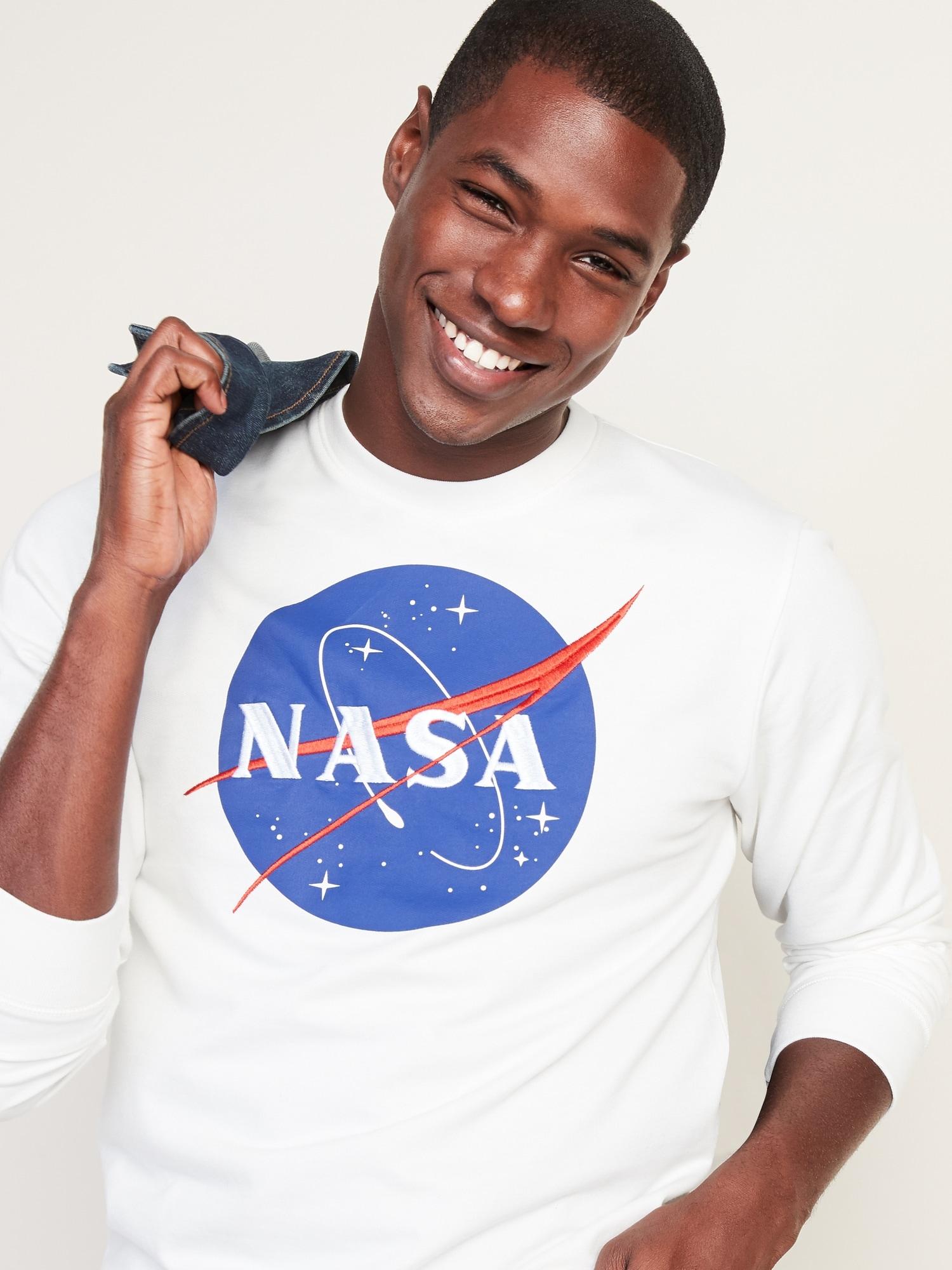 NASA Logo Mens Graphic Sweatshirt