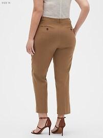 Machine Washable Avery Camel Suit Pant