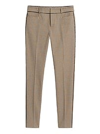 Petite Modern Sloan Skinny-Fit Pant with Piping