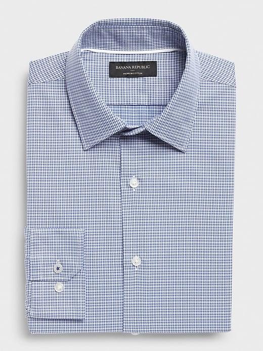 Slim-Fit Premium Cotton Shirt