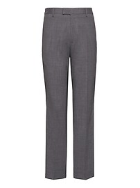 Slim Performance Stretch Wool Dress Pant