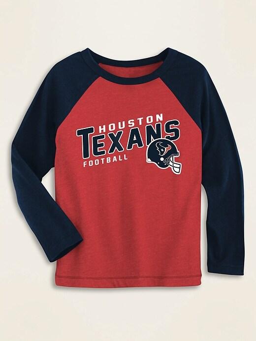 NFL&#174 Team-Graphic Raglan-Sleeve Tee for Toddler Boys