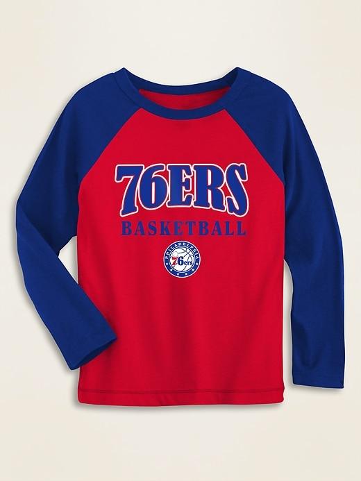 NBA&#174 Team-Graphic Raglan-Sleeve Tee for Toddler Boys
