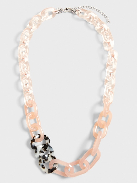 Animal Resin Statement Necklace